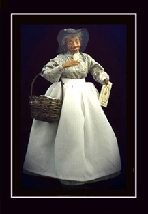 Click here to view closeup of the African American Doll, Doll Picking Cotton